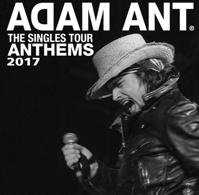 Adam Ant Stands & Delivers
