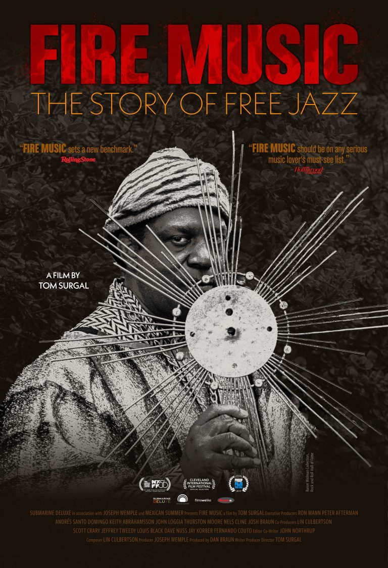Director talks new free jazz doc 'Fire Music'