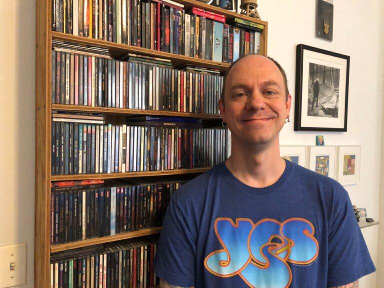 CD Junkies: Collector Brendon Snyder