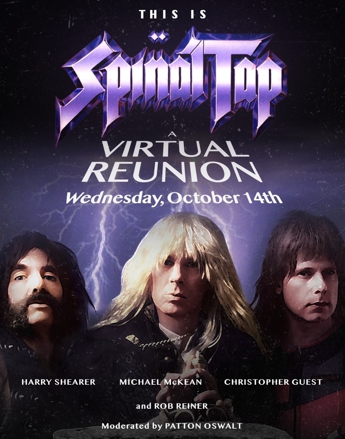 This is the Spinal Tap virtual reunion